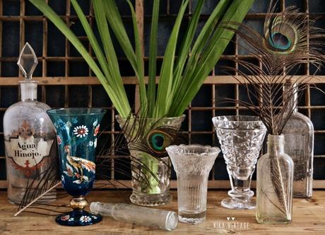C mo decorar y elegir jarrones de cristal o vidrio paperblog - Decorar jarrones de cristal ...