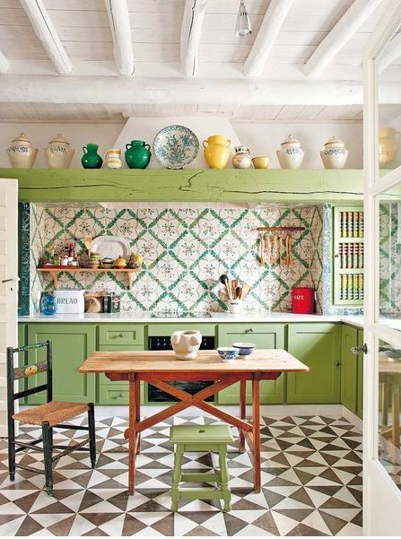 2441 decoraci n de cocina vintage paperblog - Decoracion cocina vintage ...