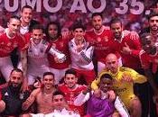 Benfica Alvalade vencer derby vestuario decorado como casa