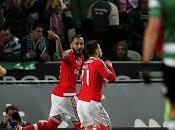 Benfica vence derby Lisboa Sporting (0-1) acerca título Liga