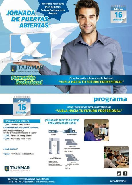 Estudiar FP en Tajamar incrementa el valor de tu esfuerzo