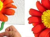 Cómo hacer flores goma paso