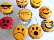 Cupcakes emoticonos.