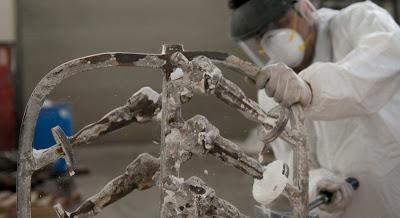 cast bronze oscars academy awards creation polich tallix