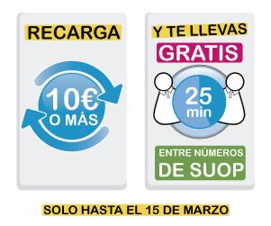 Soup premia a sus usuarios con servicio de voz gratuito en recargas de 10 euros o más