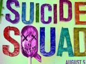 Escuadrón suicida: nuevo póster carteles promocionales tatuajes forma emblema personajes principales