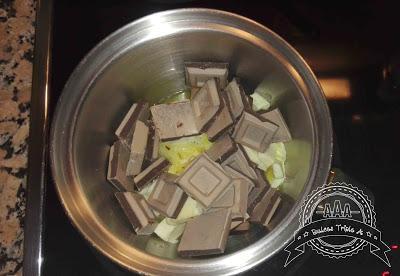 Brownie de Chocolate y Crema de Queso