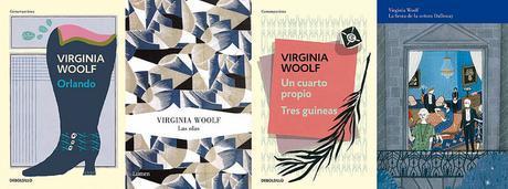 Las vidas por escrito de Virginia Woolf.