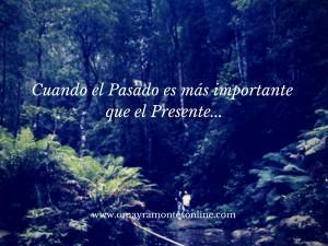 El momento es ahora, vive el presente y al pasado PERDÓNALO…