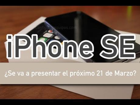 Novedad iPhone SE