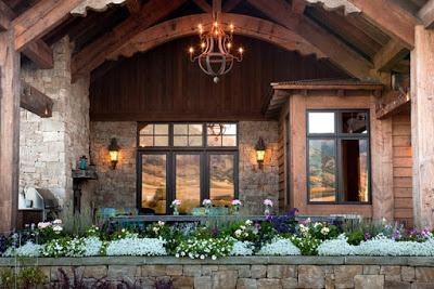 Casa de piedra y madera paperblog - Casas piedra y madera ...