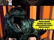 """Dinosaurios cómic Ministerio Tiempo"""""""