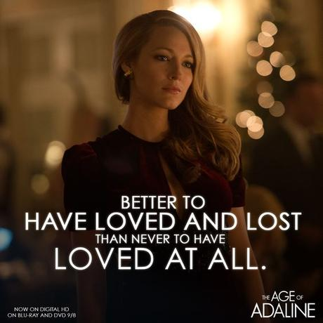 Never let time get in the way of love. #Adaline: