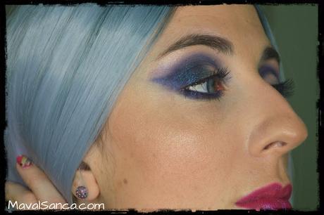 Tutorial / Paso a Paso: Maquillaje de Noche en Morado y Azul