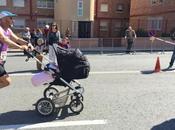 Medio maratón Murcia. familia sobre ruedas: Carritos de...