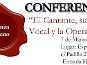 Este lunes marzo ofrecí conferencia Espai