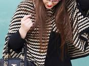 Outfit ¡Haz escuchen! Poncho Curvy Blogger