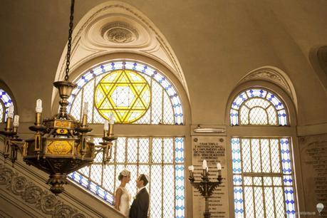 Casamiento en el Gran templo del paso
