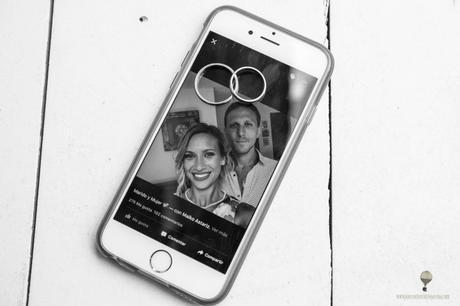 selfie novios