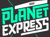 Tipografía Planeta Express