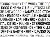 Cool Festival 2016: Who, Xoel López, Editors, Garbage, Manel, Kills...