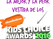 mejor peor vestida Kids Choice Awards