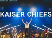 Kaiser Chiefs sustituyen Clean Bandit Arenal Sound 2016