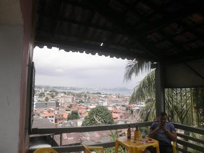 Vistas desde Barrio Ribera, Salvador de Bahía, Brasil, La vuelta al mundo de Asun y Ricardo, round the world, mundoporlibre.com