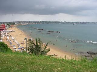 Playa de Boa Viagen, Salvador de Bahía, Brasil, La vuelta al mundo de Asun y Ricardo, round the world, mundoporlibre.com