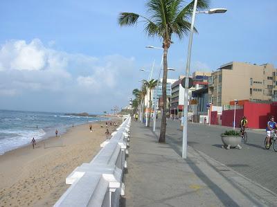Playa Faro do Barra, Salvador de Bahía, Brasil, La vuelta al mundo de Asun y Ricardo, round the world, mundoporlibre.com