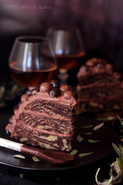 2º CUMPLE-BLOG: LAYER CAKE DE CHOCOLATE EFECTO CEBRA + REGALO Y SORTEO
