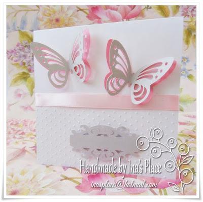 Invitación Bautizo - Vuelan las Mariposas!!