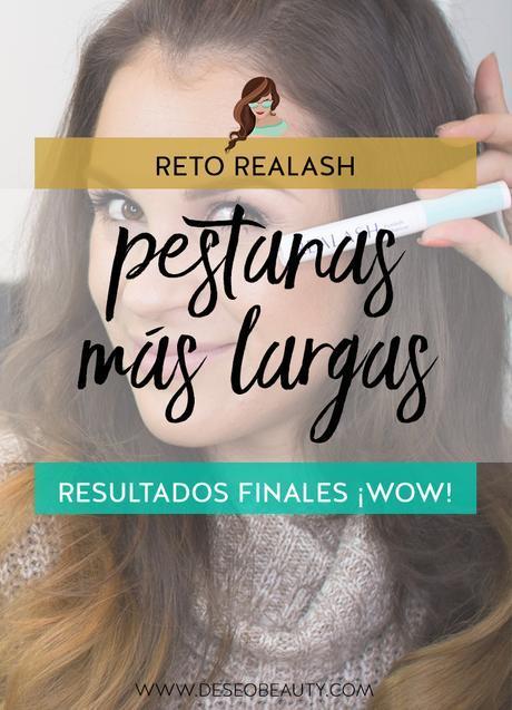 Pestanas mas largas naturales: Reto Realash, resultados finales!