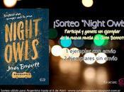 "¡Sorteo ""Night Owls""!"