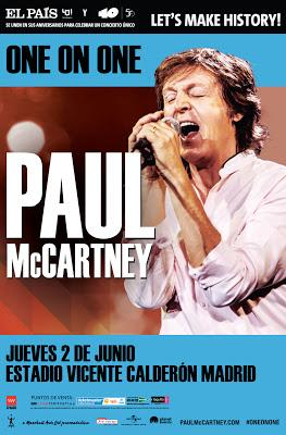 32.000 entradas vendidas en tres horas para el concierto de Paul McCartney en Madrid