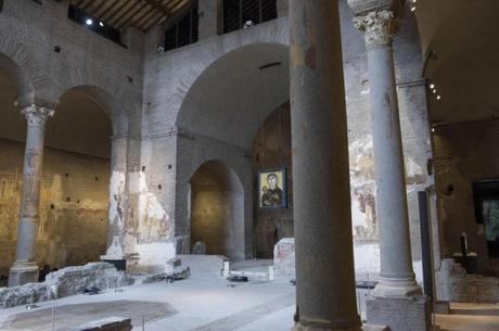 El Foro Romano abre después de treinta años la iglesia de Santa María Antigua
