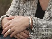 Ideas para pulseras moda perlas plata