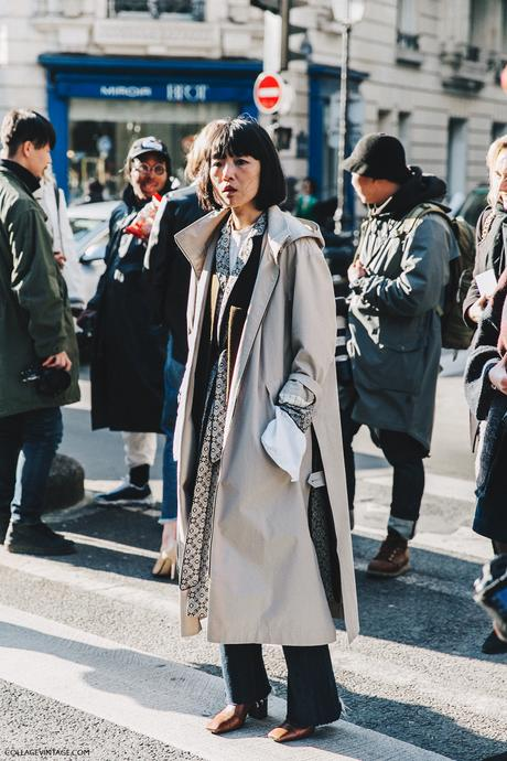 PFW-Paris_Fashion_Week_Fall_2016-Street_Style-Collage_Vintage-Pijama_Trend-Layers-TRench-1