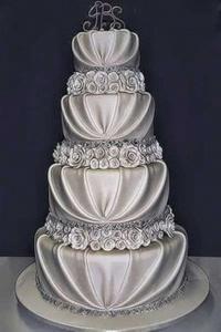 pasteles de aniversario de bodas de plata
