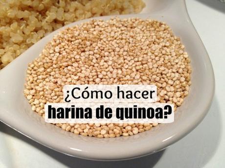 como hacer harina de quinoa