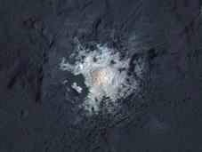 manchas brillantes Ceres color gran resolución
