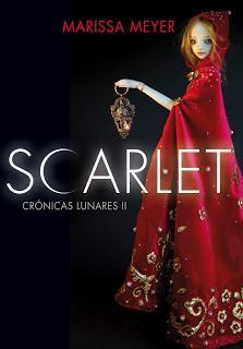 Reseña: Scarlet (Crónicas Lunares #2) de Marissa Meyer