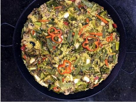 Paella de verduras paperblog for Como hacer paella de verduras