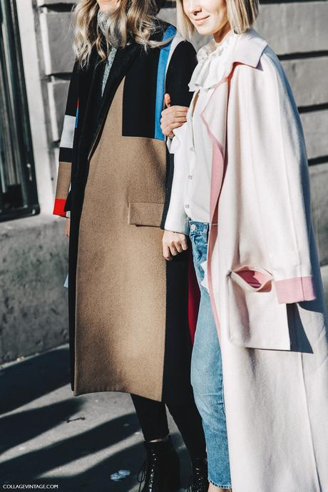 PFW-Paris_Fashion_Week_Fall_2016-Street_Style-Collage_Vintage-Celine_Coat-Pink_Coat-Anya_Ziourova-