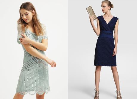 vestidos azules de invitada a una comunión