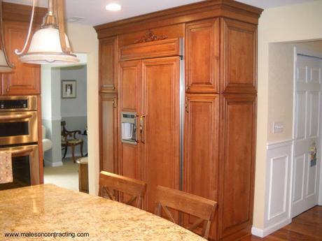 El refrigerador empotrado paperblog - Mueble para nevera ...
