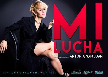 Antonia San Juan vuelve a sorprender con 'Mi lucha'