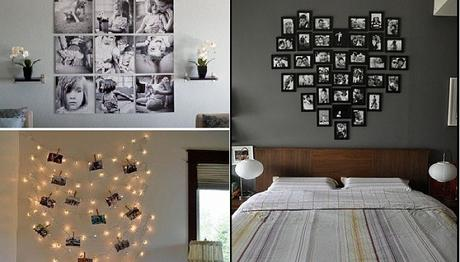 7 fabulosas ideas para decorar tu cuarto con im genes paperblog - Ideas originales para decorar paredes ...