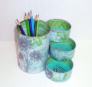 ideas para reciclar y decorar latas que tenemos en casa
