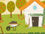 Construye huerto mini para niños